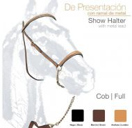 Showing bridle - with clincher browband